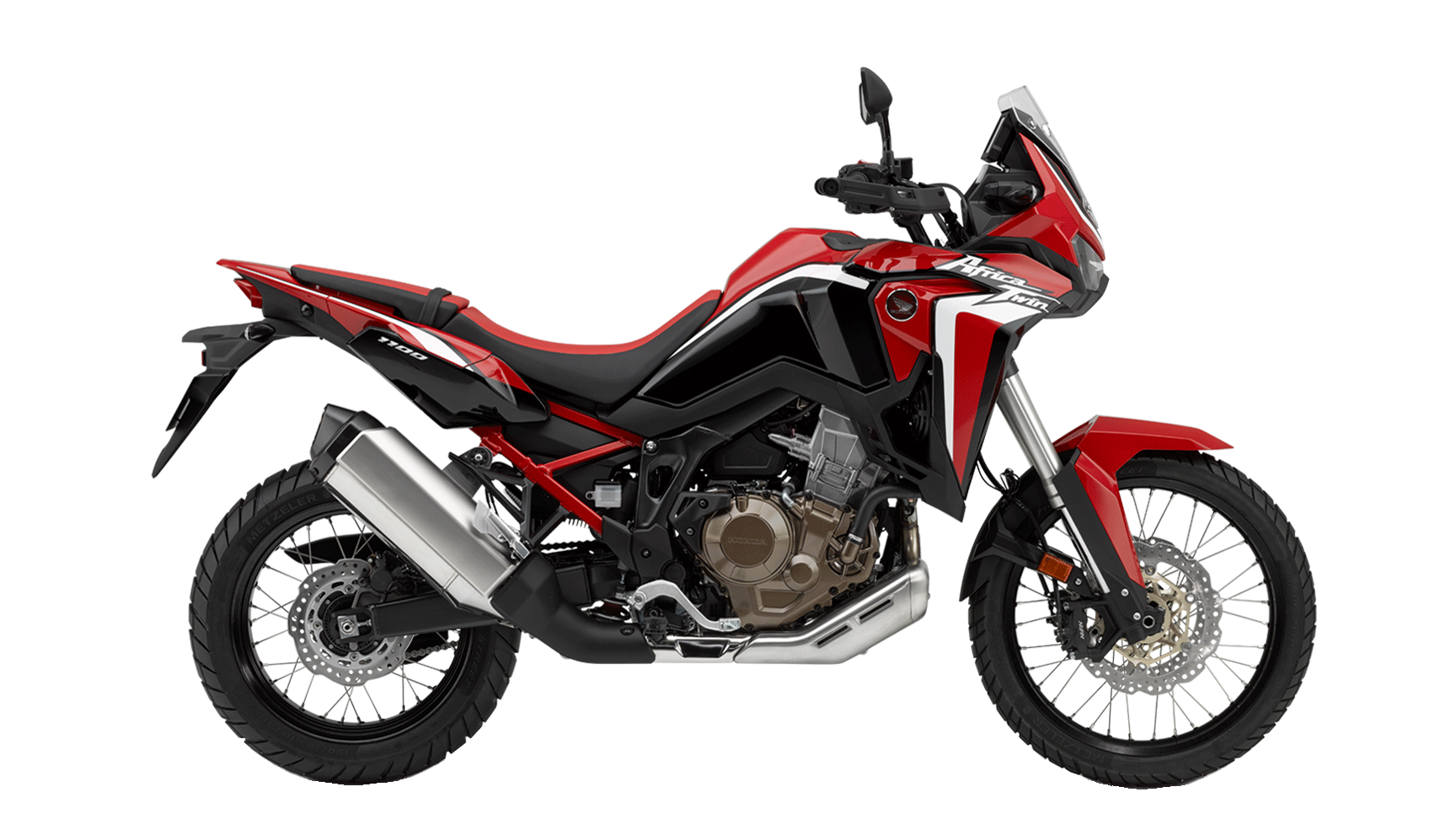 Africa Twin CRF1100L Rouge
