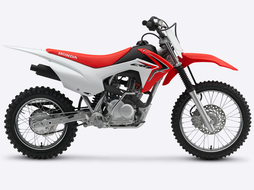 pr sentation crf125f off road gamme motos honda. Black Bedroom Furniture Sets. Home Design Ideas