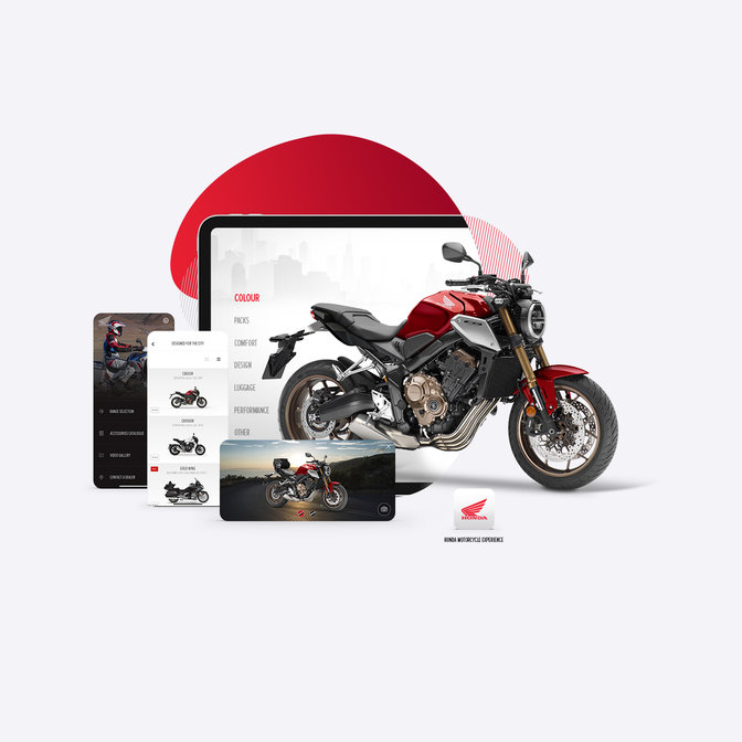 Application Honda Motorcycles Europe