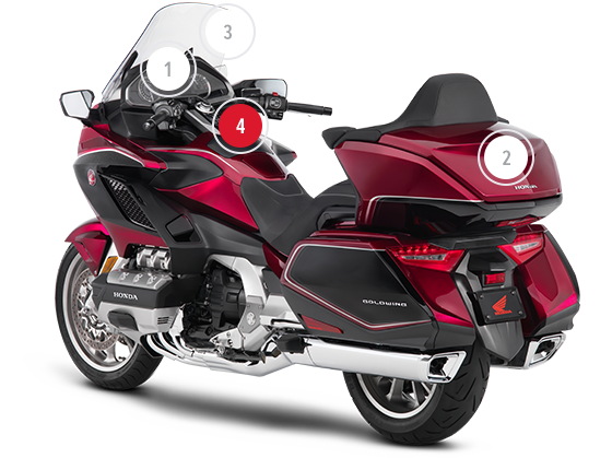 moto honda touring