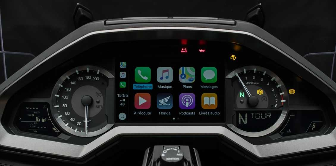 Apple Car Play Honda Gold Wing