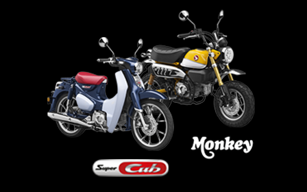 Honda monkey super cub 2018