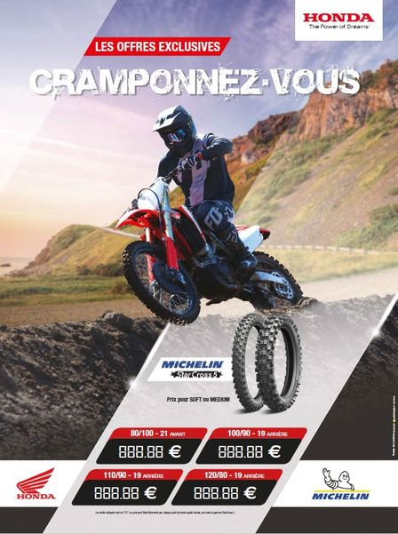 Promo Gamme Michelin Cross 2019