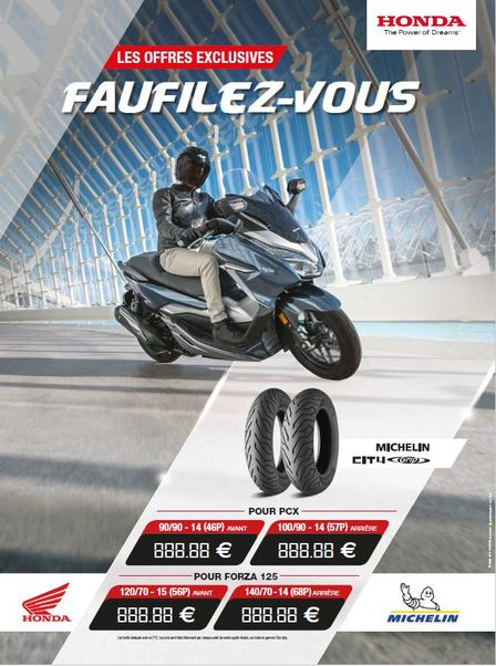 Promo Michelin City Grip 2019