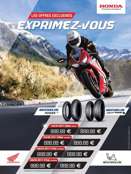 Promo 2019 Michelin Pilot et Pilot Power 3