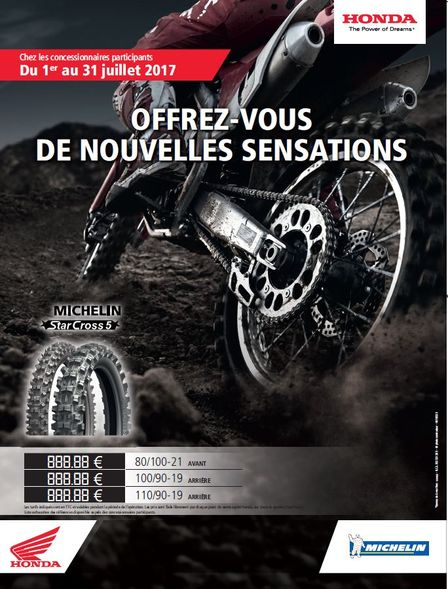 Promo Gamme Michelin City Grip and Reinf City Grip